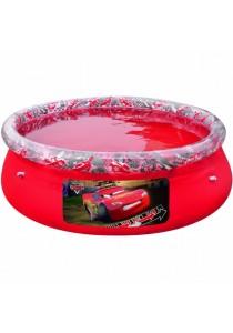 Bestway Disney Cars Fast Set Above Ground Swimming Pool Red 198cm x 51cm