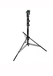 Manfrotto 126BSU Steel Heavy Duty Stand Black