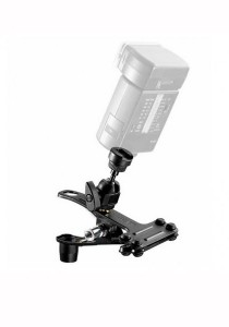 Manfrotto 175F Spring Clamp with Flash Shoe