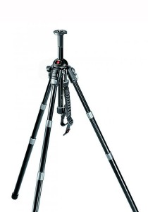 Manfrotto 458B Neotec Pro Photo Auto Tripod with Carrying Bag