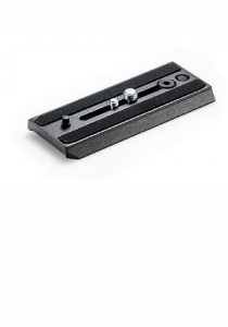 Manfrotto 500PLONG Video Camera Plate Black