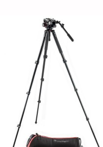 Manfrotto 504 Aluminum Single Leg Video System MVK504AQ