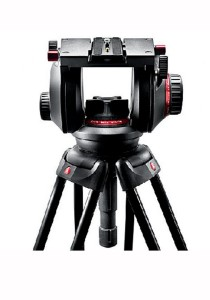 Manfrotto 509HD Pro Video Fluid Head RC3 with Build-In 100mm 500Ball