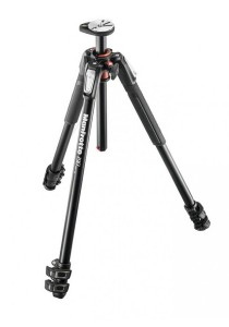 Manfrotto MT190XPRO3 3 Section Aluminum Tripod Legs with Q90 Column Black