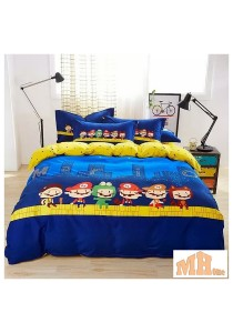 High Quality Fashion 4 Pcs Bedding Set (P-MLO)
