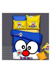 Cartoon Theme 4 Pcs Cotton Bedding Set (4 Pcs C DOR)