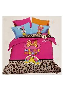 Cartoon Theme 4 Pcs Cotton Bedding Set (4 Pcs C MM)