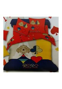 Big Theme 4 Pcs Cotton Bedding Set (4 Pcs C PK)