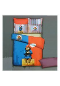 Cartoon Theme 4 Pcs Cotton Bedding Set (4 Pcs C TED)