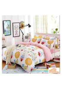 Maylee High Quality Fashion 5 Pcs Lovely Flower Single Bedding Set (FM-S-LFLO)