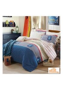 Maylee High Quality Fashion 5 Pcs Single Bedding Set (FM-S-SAI)