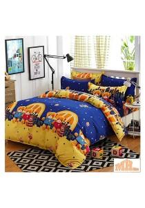 Maylee High Quality Fashion 5 Pcs Teddy Bear Single Bedding Set (FM-S-TED)