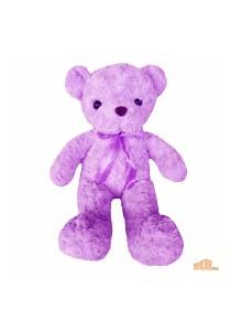 Maylee Cute Plush Teddy Bear 42cm Purple (Bear R-purple)