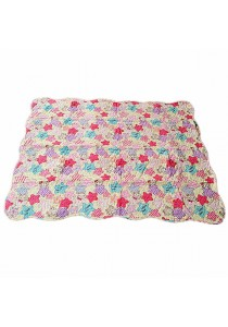 Maylee Cotton Patchwork Baby Quilted (BQ 8885-pink)