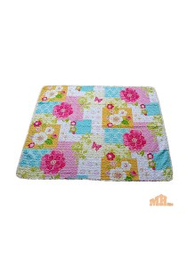 Maylee Cotton Patchwork Baby Quilted Colourful Flower