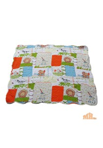 Maylee Cotton Patchwork Baby Quilted Hippo