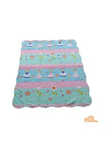 Maylee Cotton Patchwork Baby Quilted Princess