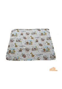 Maylee Cotton Patchwork Baby Quilted Zoo