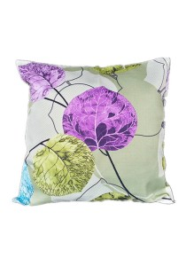 Maylee Pillow Cases 2pcs (C Leaves-Purple)