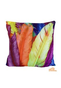Maylee High Quality Printed Colourful Feather Pillow Cases