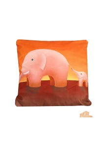 Maylee High Quality Printed Elephant Pillow Cases