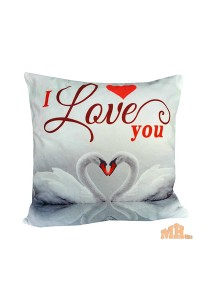 Maylee High Quality Printed I Love U Swam Pillow Cases