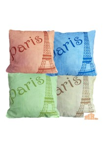 Maylee Pillow Cases 4 Pcs Multicolour C LR (Paris)