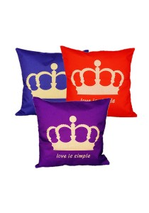 Maylee Pillow Cases 3pcs (C YM Crown)