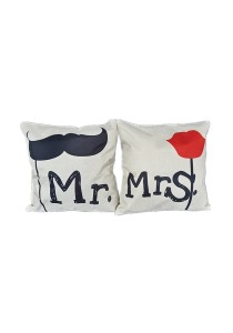 Maylee Pillow Cases 2pcs (C YM Mr&Mrs)