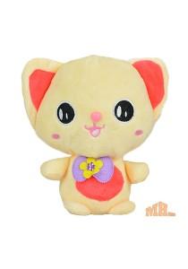 Maylee Cute Plush Cat 19cm (Orange)