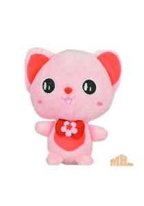 Maylee Cute Plush Cat 19cm (Pink)