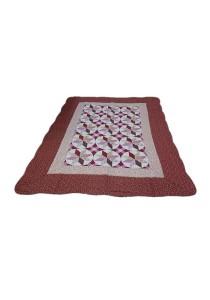 Maylee Patchwork Cotton Carpet (Ct NewStar-Red)
