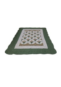 Maylee Patchwork Cotton Carpet (Ct Classic-Green)