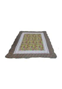 Maylee Patchwork Cotton Carpet (Ct Flower-Yellow)