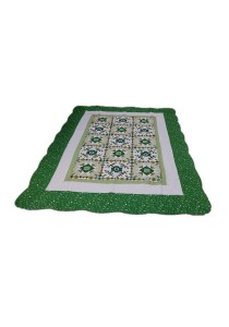 Maylee Patchwork Cotton Carpet (Ct Modern-Green)