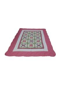 Maylee Patchwork Cotton Carpet (Ct Modern-Pink)