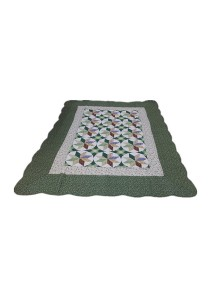 Maylee Patchwork Cotton Carpet (Ct NewStar-Green)