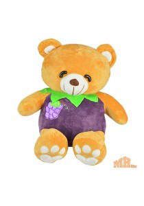 Maylee Cute Fruit Bear 30cm Purple (Grape)