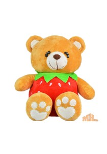 Maylee Cute Fruit Bear 30cm Red (Strawberry)