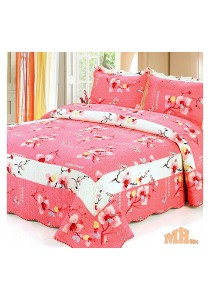 Maylee He88110 Cadar Patchwork Cotton Set of 3