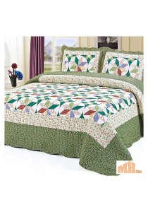 Maylee He88126 Cadar Patchwork Cotton Set of 3