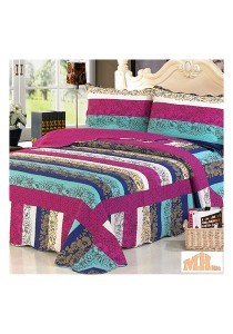 Maylee He8841 Cadar Patchwork Cotton Set of 3