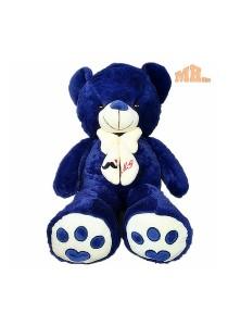 Maylee Big Plush Teddy Bear 80cm Blue