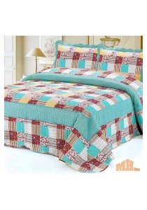Maylee Mzr142 Cadar Patchwork Cotton Set of 3