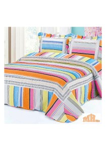 Maylee Mzr146 Cadar Patchwork Cotton Set of 3