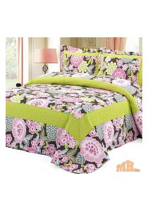 Maylee Mzr148 Cadar Patchwork Cotton Set of 3