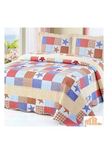Maylee Mzr170 Cadar Patchwork Cotton Set of 3