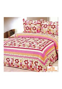 Maylee Yh8034 Red Flower Cadar Patchwork Set of 3