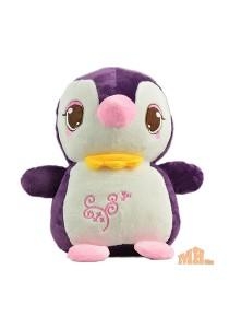 Maylee Cute Plush Penguin 25cm (Dark Purple)