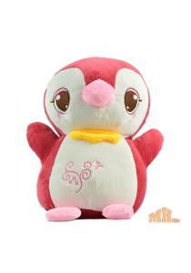 Maylee Cute Plush Penguin 25cm (Maroon)
